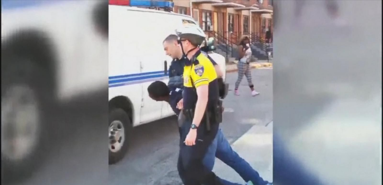 VIDEO: Protesters Claim Freddy Gray Victim of Baltimore 'Rough Ride'