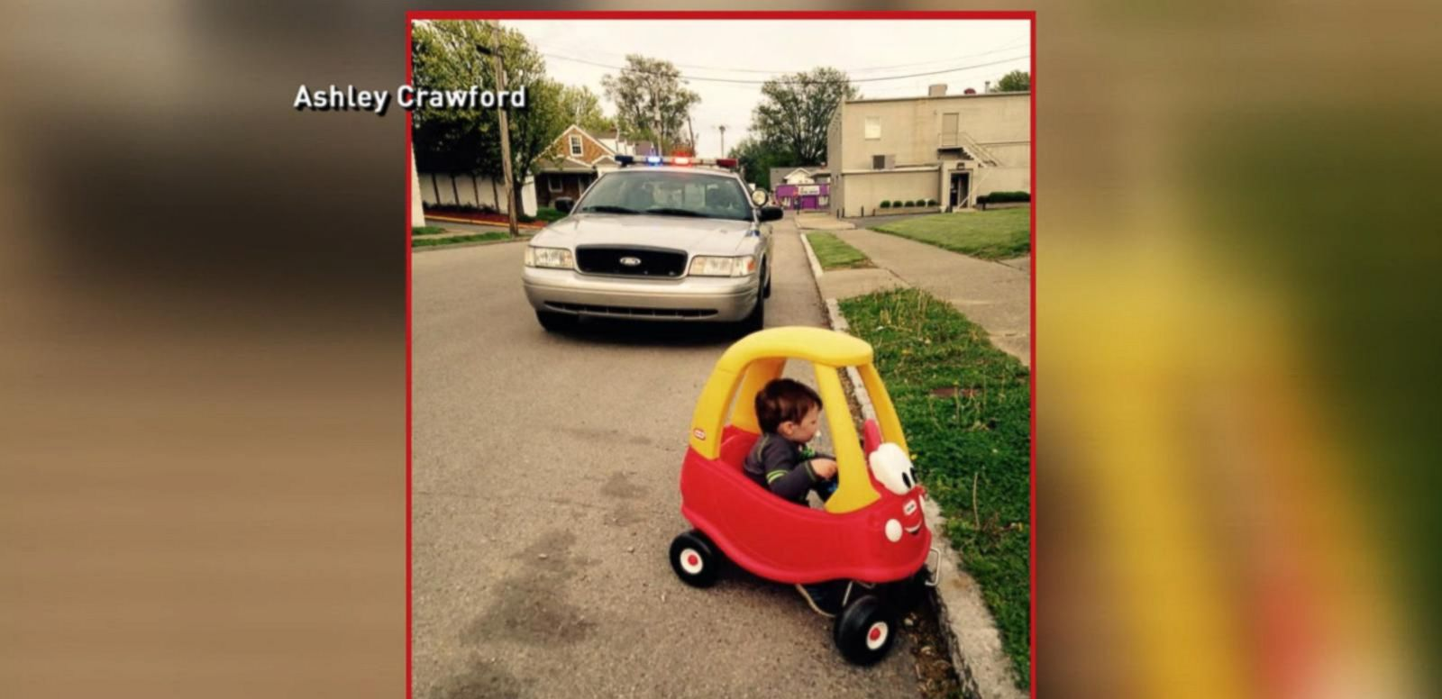 VIDEO: Index: Viral Images Show Toddler Pulled Over for 'Moving Violation'