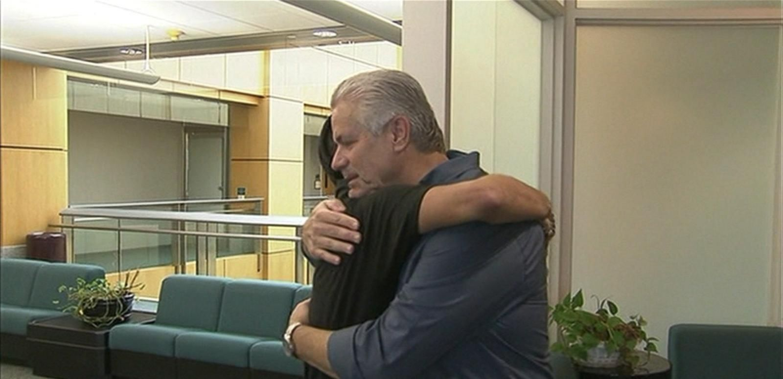 VIDEO: 25-Year-Old Man Meets the Retired Cop That Saved Him When He Was an Infant