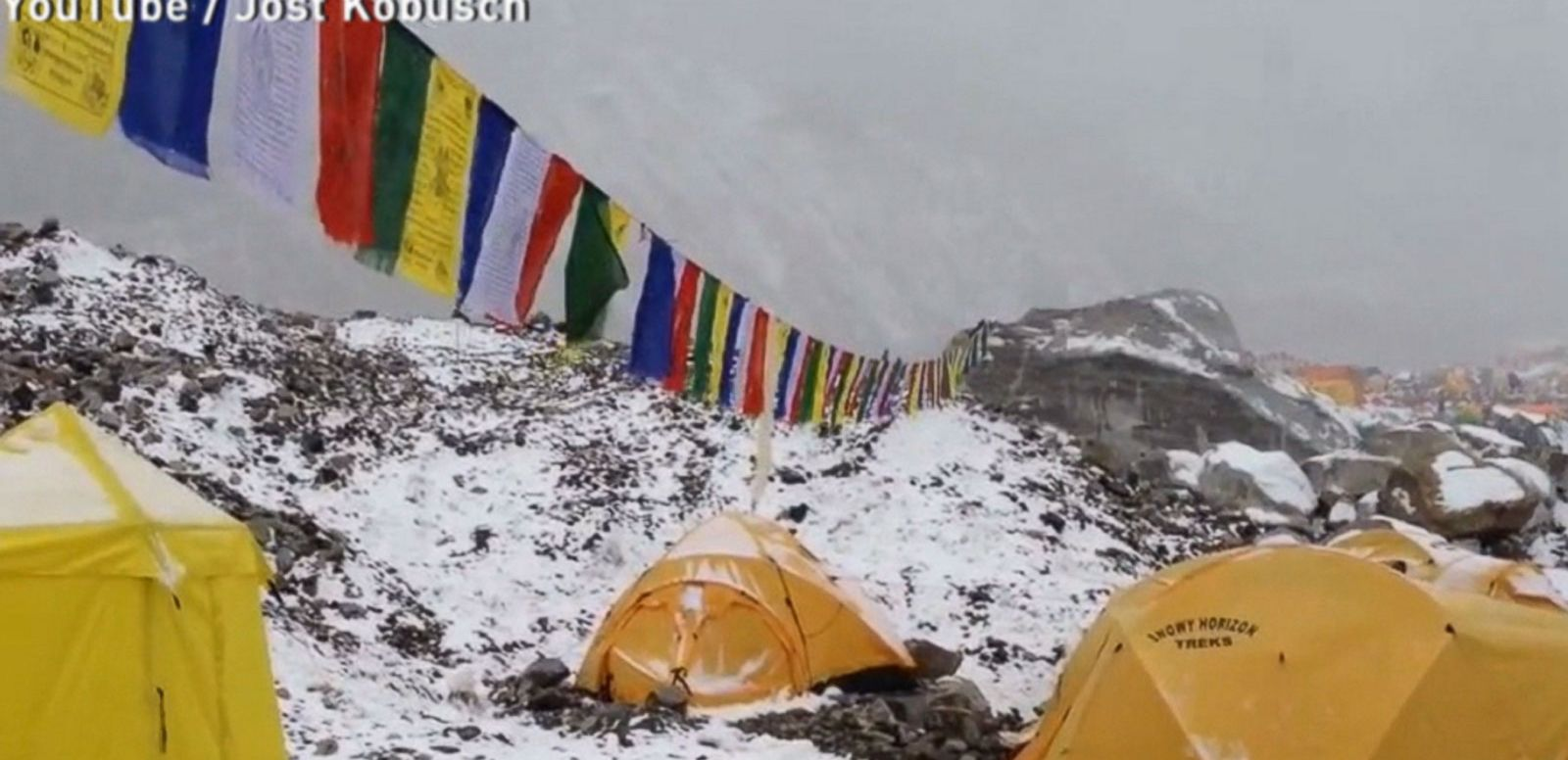 VIDEO: Everest Base Camp Hit by Avalanche