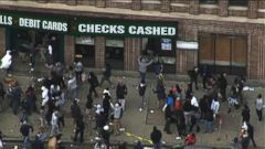 Extremely Violent Protests Erupt in Baltimore Over Police Brutality