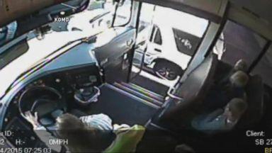 Index: Speeding SUV Nearly Strikes Three Children Getting on a School Bus