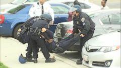 Several Police Officers Injured in Violent Baltimore Protests