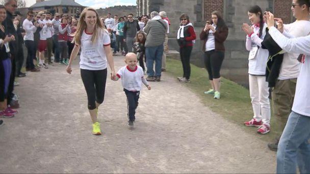 VIDEO: Kayla and Little James, No Longer Strangers Sharing an Unbreakable Bond