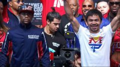 VIDEO: Las Vegas Braces for Fight of the Century