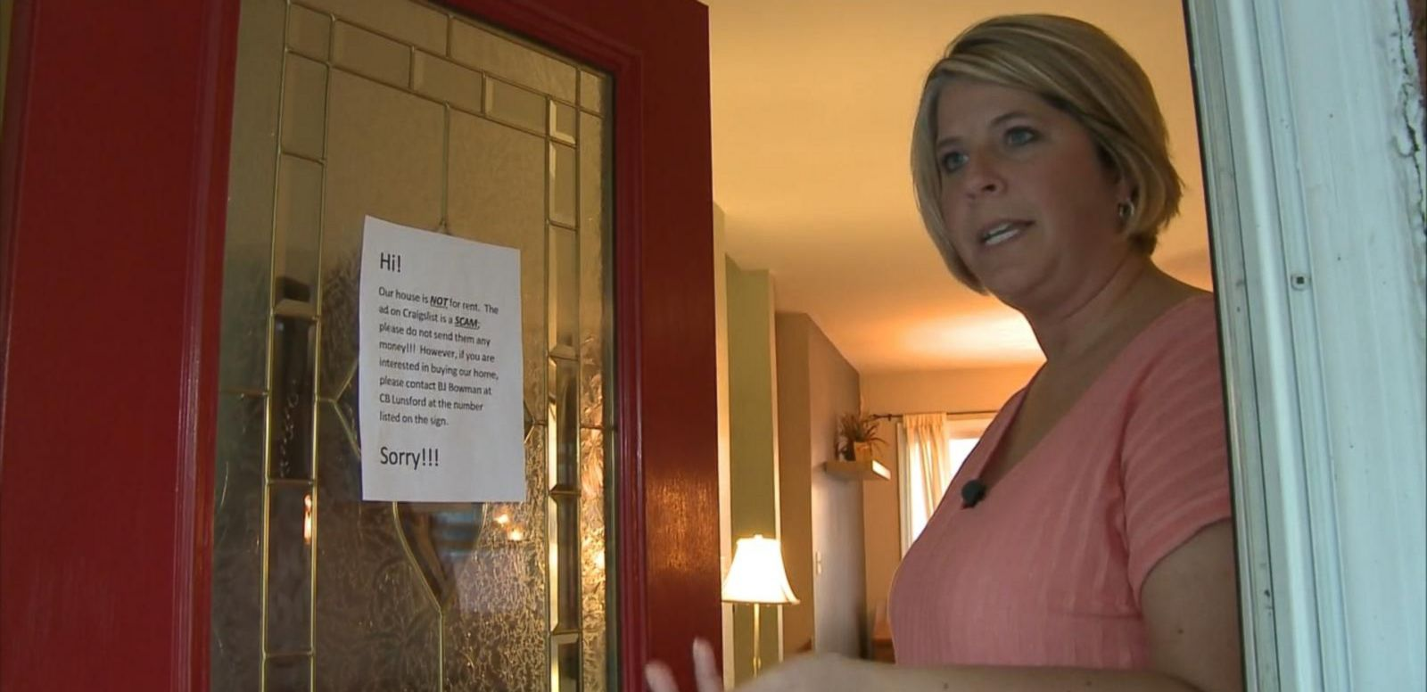 VIDEO: Scammers Renting Occupied Houses on Craigslist