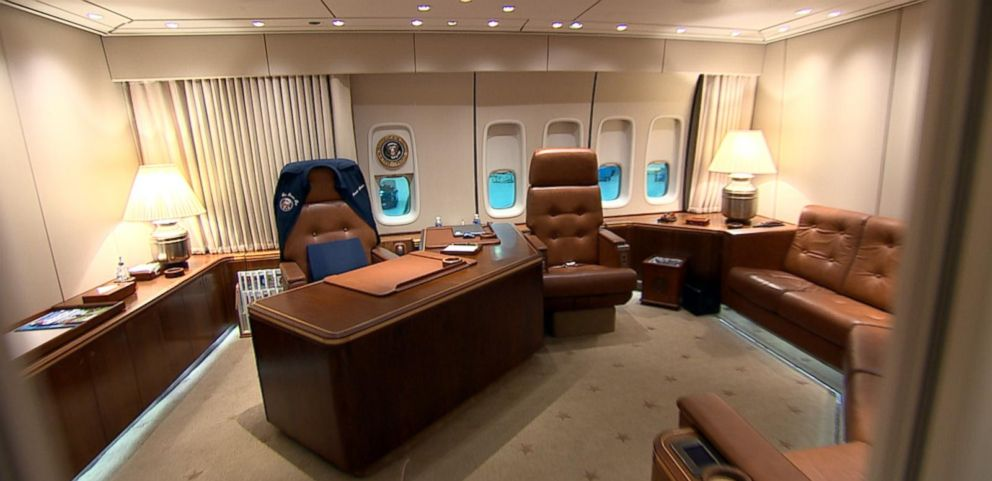VIDEO: Inside the Oval Office in the Sky