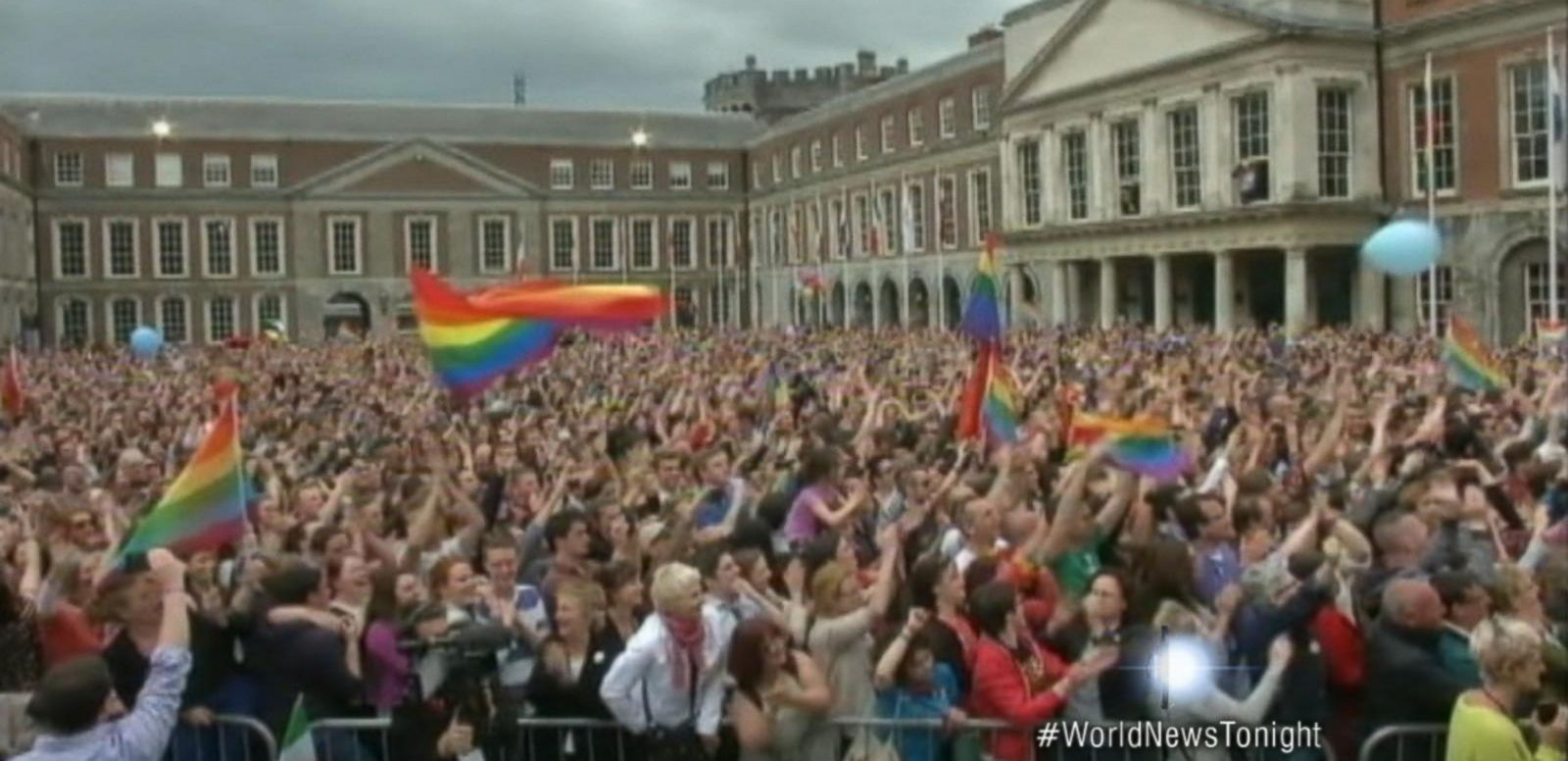 VIDEO: Ireland Legalizes Gay Marriage by Popular Vote