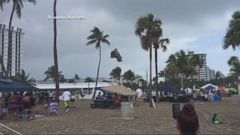 VIDEO: Water Spout Hurls Bounce House and Injures Three Children