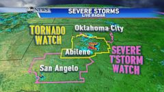 VIDEO: Severe Storms With Tornadoes and Heavy Rain in the Forecast Without a Break