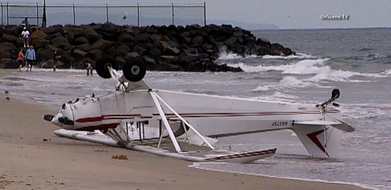 VIDEO: 12-Year-Old Injured as Single-Engine Plane Crash Lands on California Beach