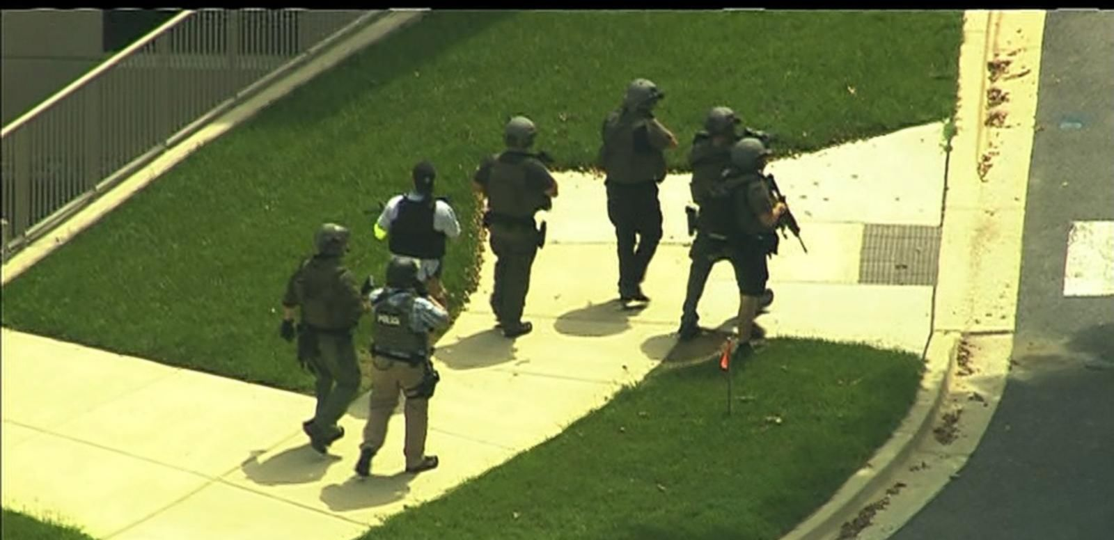 VIDEO: America on Alert: Reports of a Shooter Send Walter Reed Medical Center Into Lockdown