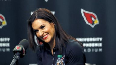 VIDEO: WN 07/28/15: Arizona Cardinals Hire First Female NFL Coach