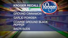 VIDEO: Index: Kroger Spice Recall