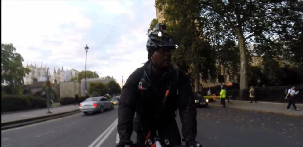 VIDEO: Bicyclists Are Increasingly Purchasing Helmet Cams for Protection