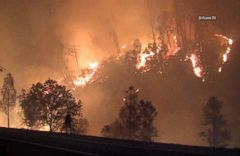 VIDEO: More Than 12,000 Evacuate Homes to Escape California Wild Fires