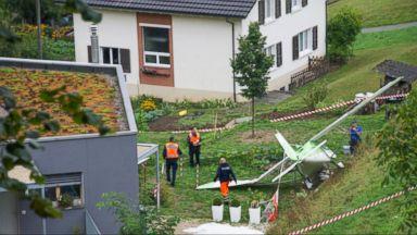 Stunt Planes Collide at Airshow in Switzerland