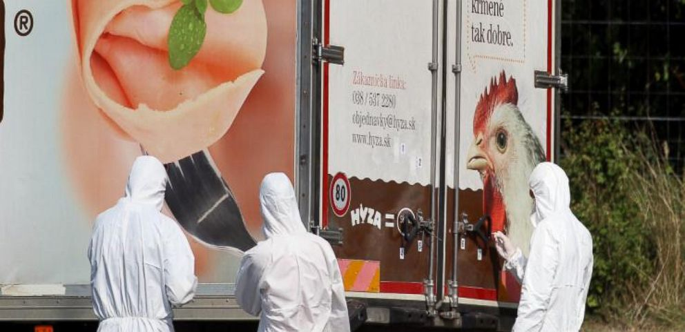 VIDEO: Up to 50 Bodies Found in Truck East of Vienna