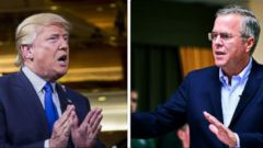 VIDEO: Showdown Between Jeb Bush and Donald Trump Heats Up