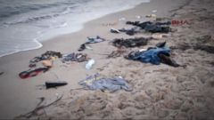 VIDEO: Bodies of Syrian Refugees Wash Ashore on Greek Island