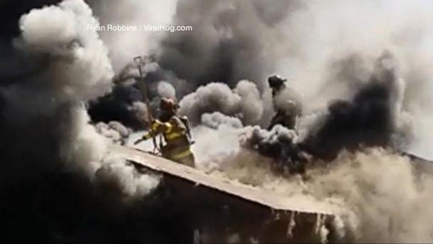 VIDEO: Fire Captain Pete Dern's Big Milestone