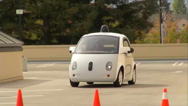 VIDEO: First Look Inside Google's Self-Driving Car