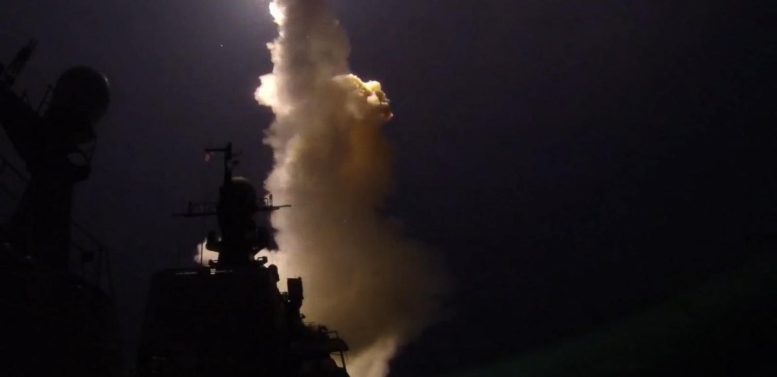 VIDEO: Russia Fires More Than 24 Cruise Missiles Into Syria
