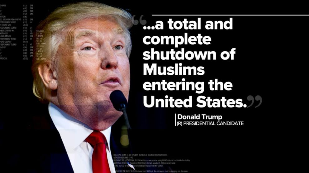 Donald Trump Calls for a 'Total and Complete Shutdown' on Muslim ...