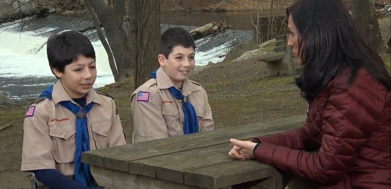 VIDEO: Two Boy Scout Brothers Save Their Scout Leader From a Bear Attack