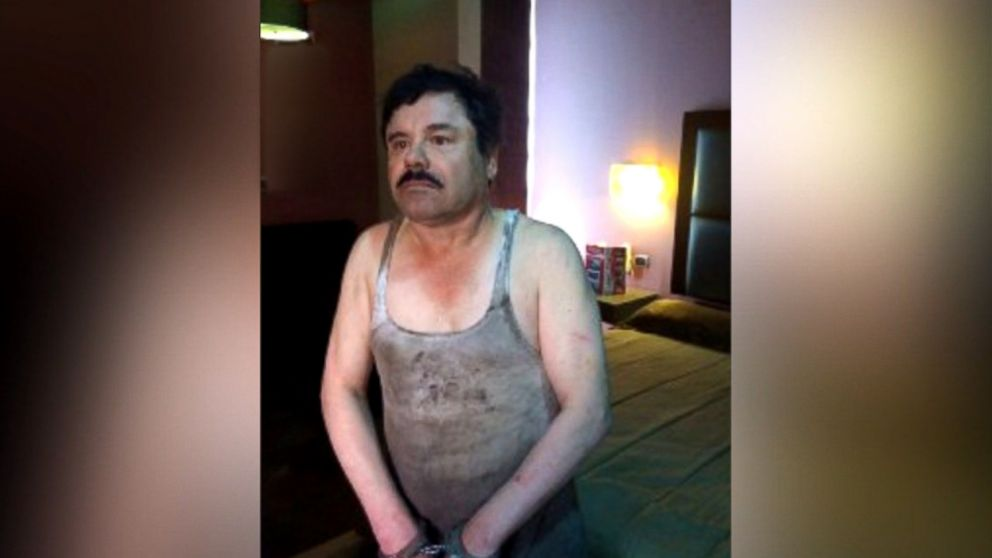 infamous drug lord  u0026 39 el chapo u0026 39  captured in mexico video