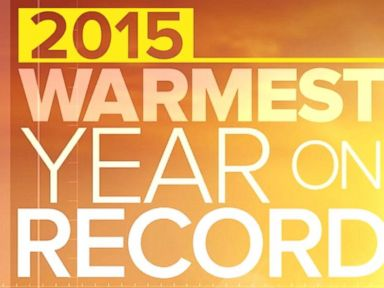 Watch:  Index: 2015 Warmest Year on Record