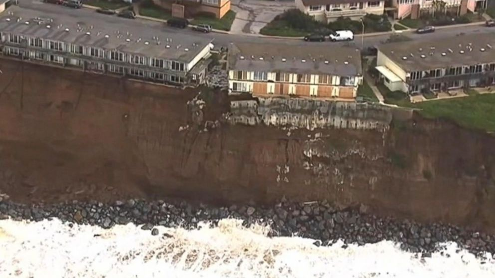 Cliffhanger homes in danger of falling off a cliff in in for How to build a house in california