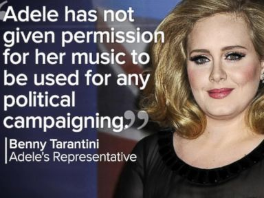 Watch:  Index: Adele Wants Trump to Stop Using Her Music at Campaign Events