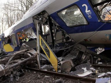 Watch:  Index: Deadly Train Crash in Germany