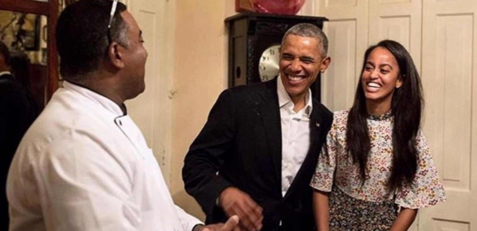 VIDEO: 2. Malia Obama Steps In for Dad