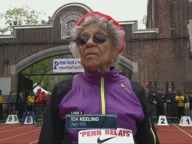 Watch:  100-Year-Old World Record Holder Shares Her Running Secrets With David Muir