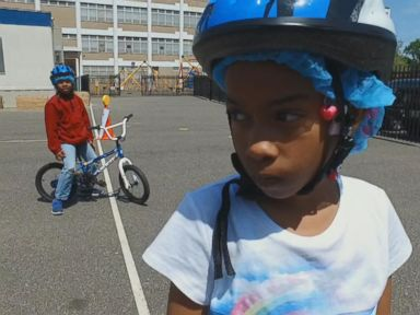 Watch:  First of Its Kind Program Teaches Kids to Ride a Bike