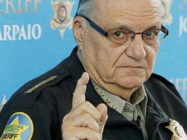 Watch:  Index: Controversial Arizona Sheriff Joe Arpaio Held in Contempt of Court Over Alleged Racial