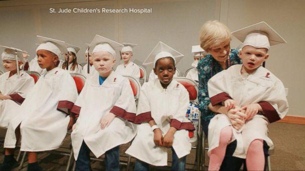 VIDEO: Kids Battling Cancer Graduate From Kindergarten