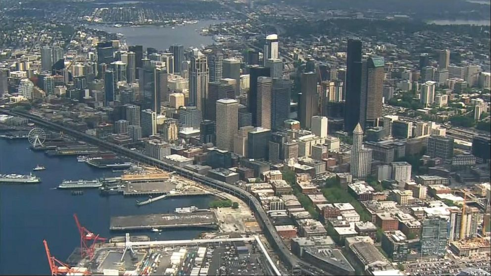 Index Massive Blackout Hits Downtown Seattle Video Abc News