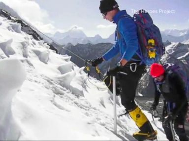 Watch:  Celebrating Wounded Warriors on Top of the World