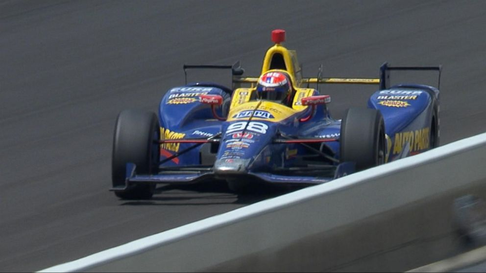 Rookie alexander rossi wins the 100th running of the indy for Alexander s mural paramus