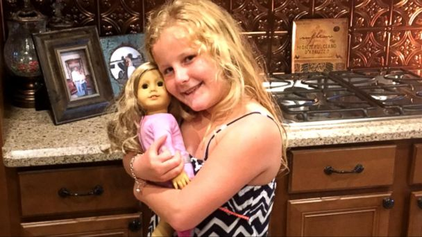 VIDEO: 10-Year-Old Receives Doll with Matching Prosthetic Leg