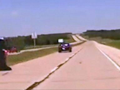 Watch:  Wild Police Chase in Oklahoma With Speeds of Over 100 MPH