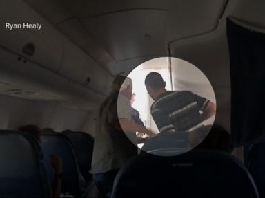 Watch:  Index: Unruly Passenger Forces a Plane to Make an Emergency Landing