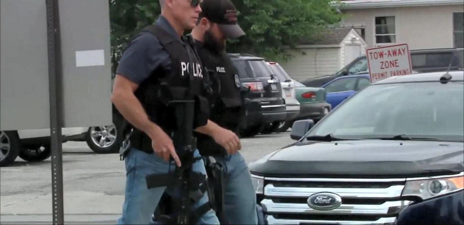 VIDEO: Shot Pennsylvania Officer's Call for Help