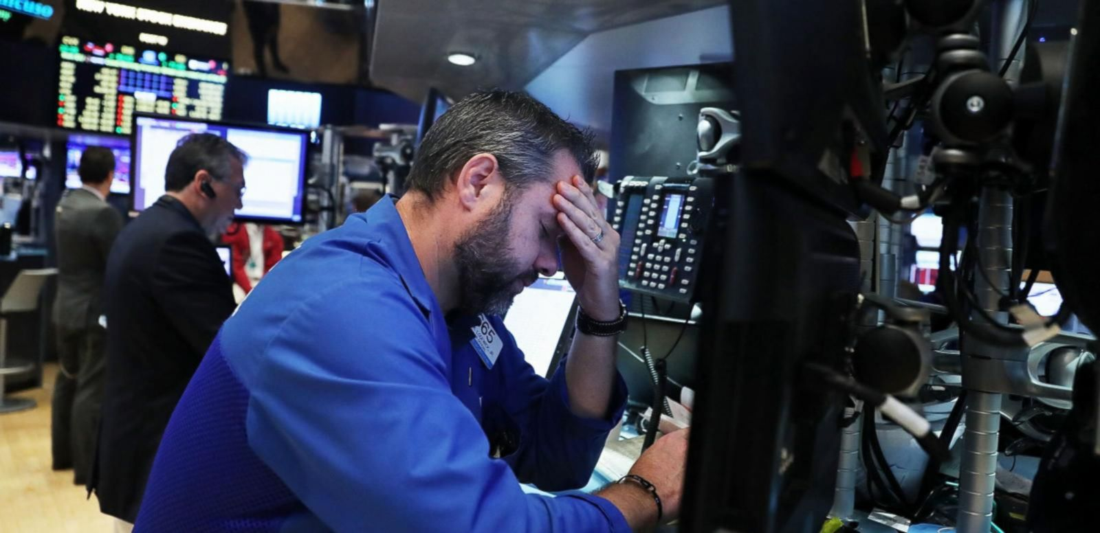 VIDEO: Dow Plunges More Than 600 Points