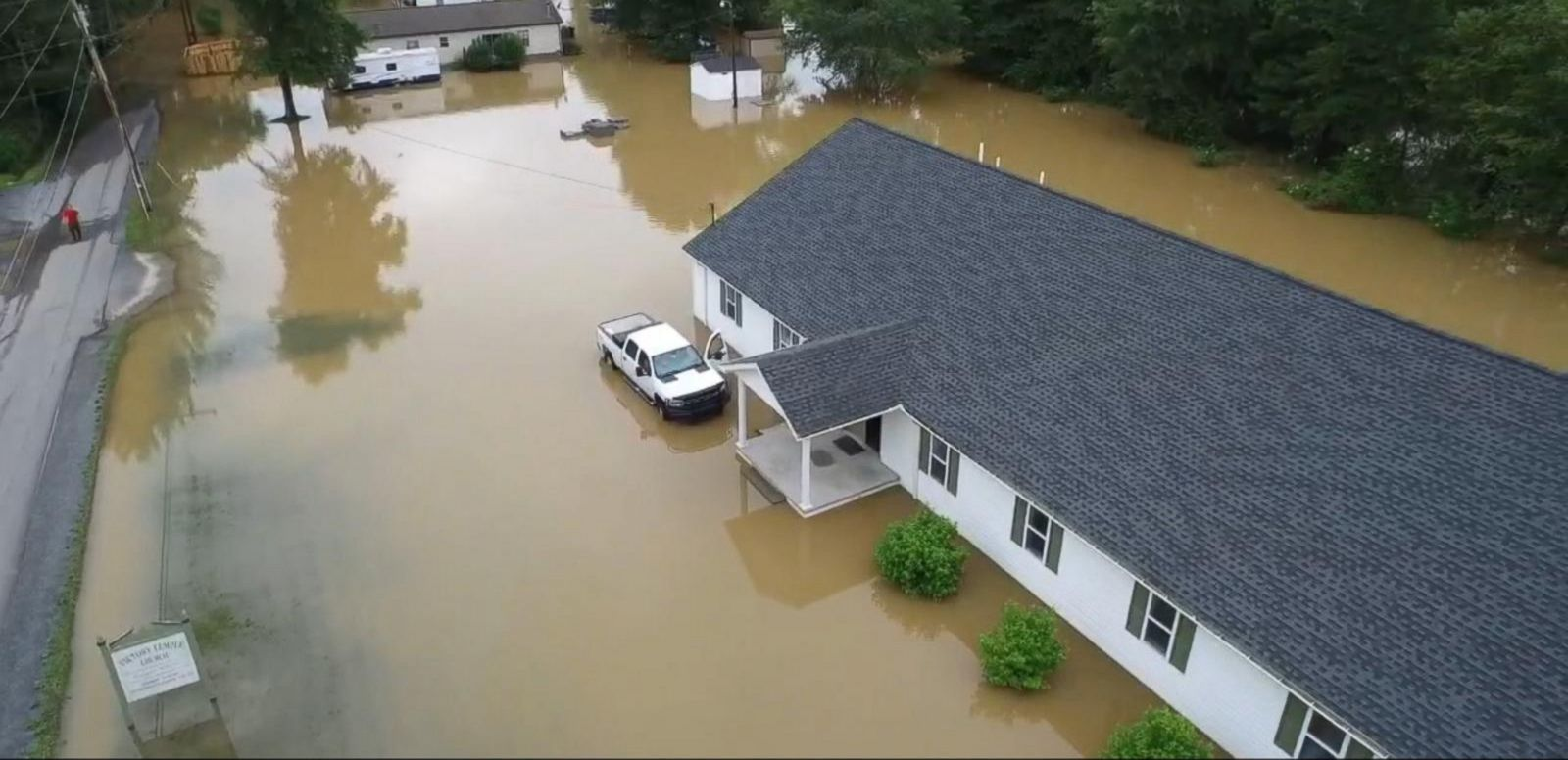 VIDEO: Deadly Flooding Kills at Least 19 People Including a Toddler, Many Others Missing