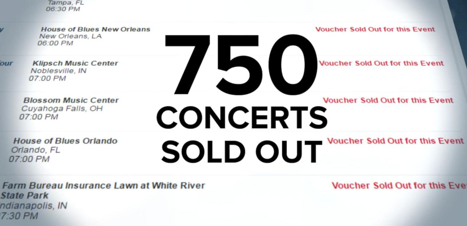 VIDEO: Ticketmaster Hits a Bad Note With Music Fans