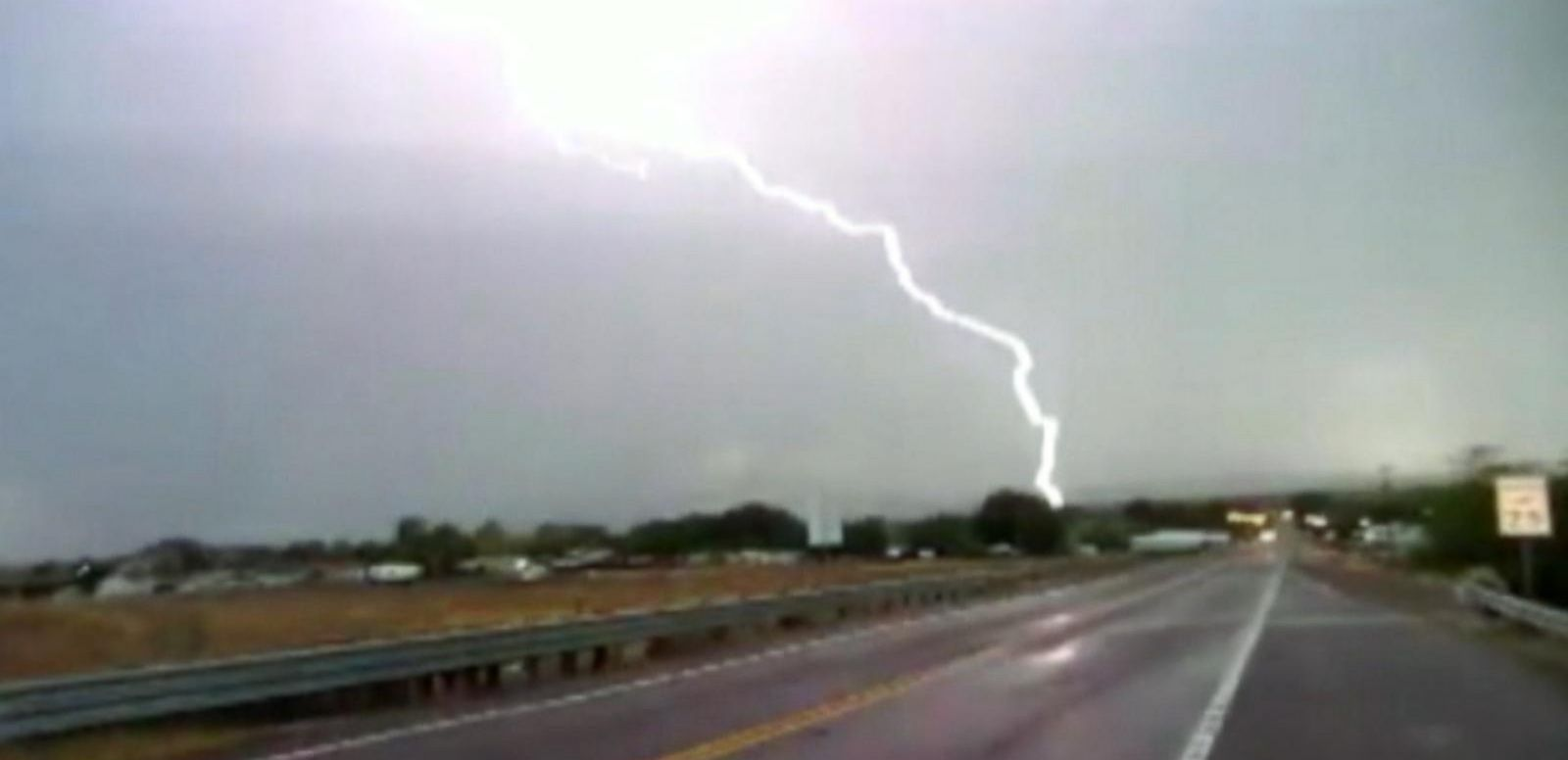 VIDEO: Deadly Lightning Bolt Strikes in Daytona Beach, Florida